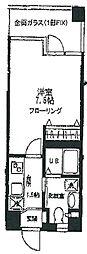 ガーデンハイム3[1階]の間取り
