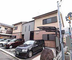 京都府八幡市八幡御馬所の賃貸アパートの外観