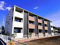 埼玉県狭山市大字東三ツ木の賃貸アパートの外観