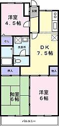 ドルフベルク[2階]の間取り