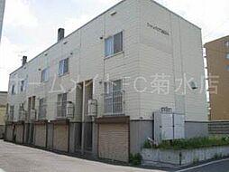 [テラスハウス] 北海道札幌市白石区中央一条2丁目 の賃貸【/】の外観