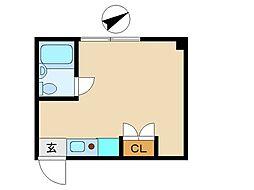 東京都葛飾区東新小岩5丁目の賃貸マンションの間取り