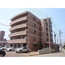 新潟県新潟市中央区下大川前通4ノ町の賃貸マンションの外観