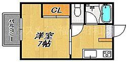 シティハイムBOOM[2階]の間取り
