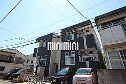 福岡県福岡市東区筥松4丁目の賃貸アパートの外観