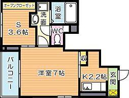グッドライフ別所I[1階]の間取り