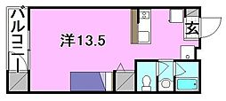 牛渕ステーションハイツ[103 号室号室]の間取り