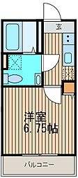 神奈川県川崎市幸区南加瀬5の賃貸アパートの間取り