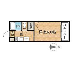DO大阪港[8階]の間取り