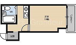 GROOVE桜ノ宮[3階]の間取り