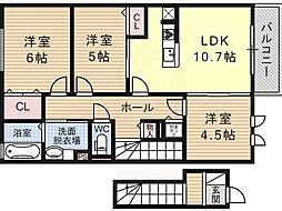 平野駅 9.7万円
