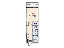 コモド三春[303号室]の間取り