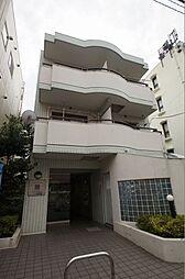 神奈川県横浜市港北区大倉山4の賃貸マンションの外観