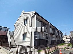 タウニー矢田[1階]の外観