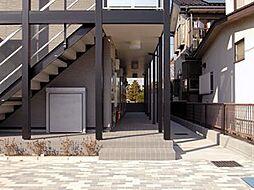レオパレスルフラン東越谷[1階]の外観