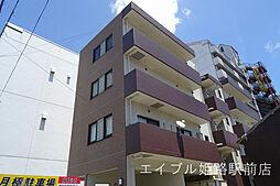 兵庫県姫路市忍町の賃貸マンションの外観