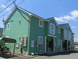 兵庫県姫路市香寺町広瀬の賃貸アパートの外観