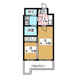 グランフォーレ箱崎ステーションプラザ[11階]の間取り