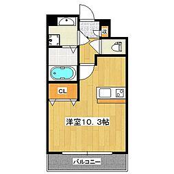 Do Dream 栄町[4階]の間取り