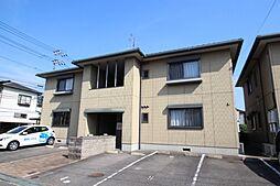 広島県広島市東区温品1丁目の賃貸アパートの外観