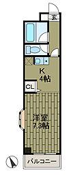 エステート共和[2階]の間取り