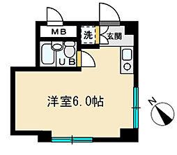 T・Mハウス[103号室]の間取り