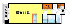 J・WAVE都府楼[6階]の間取り