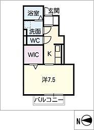 仮)D−room豊田土橋[1階]の間取り