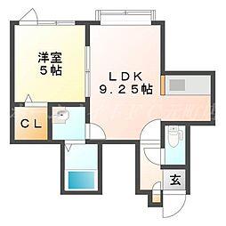 Mocha (モカ)[2階]の間取り