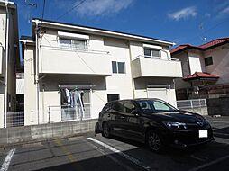 東京都江戸川区本一色3丁目の賃貸アパートの外観
