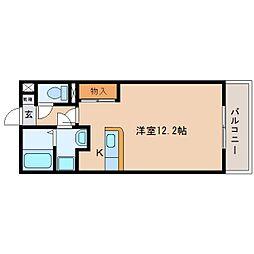 静岡県藤枝市横内の賃貸マンションの間取り