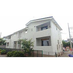 千葉県松戸市八ケ崎4丁目の賃貸アパートの外観