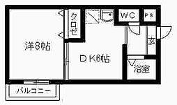 ソルジェンテII[2階]の間取り
