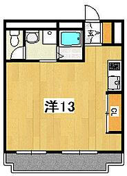 ハマヤハイツ[306号室]の間取り