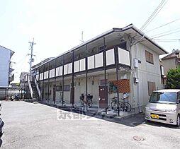 京都府京都市西京区牛ヶ瀬西柿町の賃貸アパートの外観
