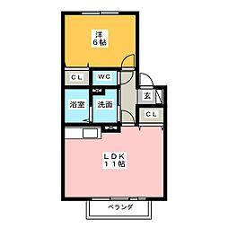 サライIII[2階]の間取り