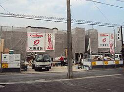 愛知県名古屋市守山区鳥羽見3丁目の賃貸アパートの外観