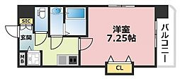 Luxe深江橋[601号室号室]の間取り
