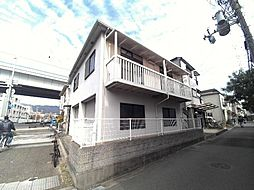 兵庫県芦屋市呉川町の賃貸アパートの外観