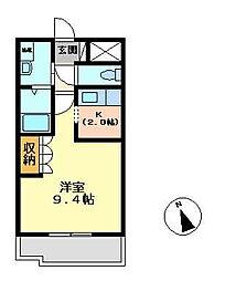 Casa Excelsior[202号室]の間取り