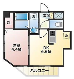 (仮称)川口市・芝新町ヒルズマンション225[503号室]の間取り