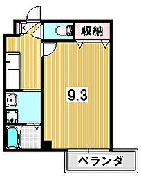 一乗寺松柏[304号室]の間取り
