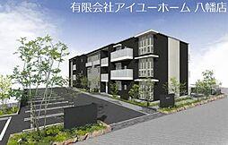 福岡県北九州市八幡西区則松東1丁目の賃貸アパートの外観