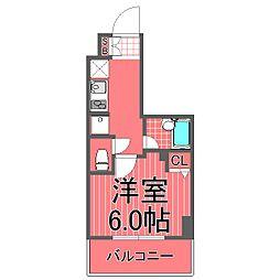 バージュアル横濱鶴見[5階]の間取り
