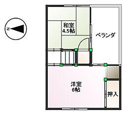 [一戸建] 兵庫県尼崎市東難波町3丁目 の賃貸【/】の間取り