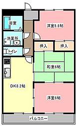 エクセレンスガーデン[2階]の間取り