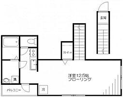 ヴァンヌーボ[2階]の間取り