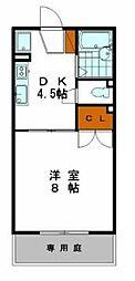サンコーポ車崎[2階]の間取り