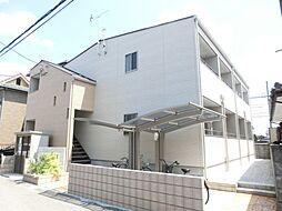 埼玉県鴻巣市栄町の賃貸アパートの外観
