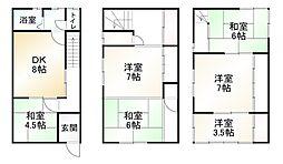東福寺駅 2,590万円